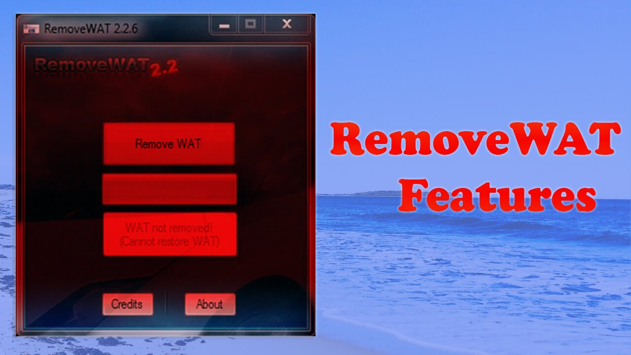 RemoveWAT 2 2 8 Activator Download For Windows [2019]